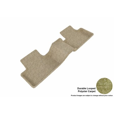 3D Maxpider 2012 2013 Land Rover Range Rover Evoque Second Row All Weather Floor Liner In Tan Carpet