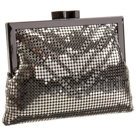 Whiting & Davis Crystal Chevron Cross-Body