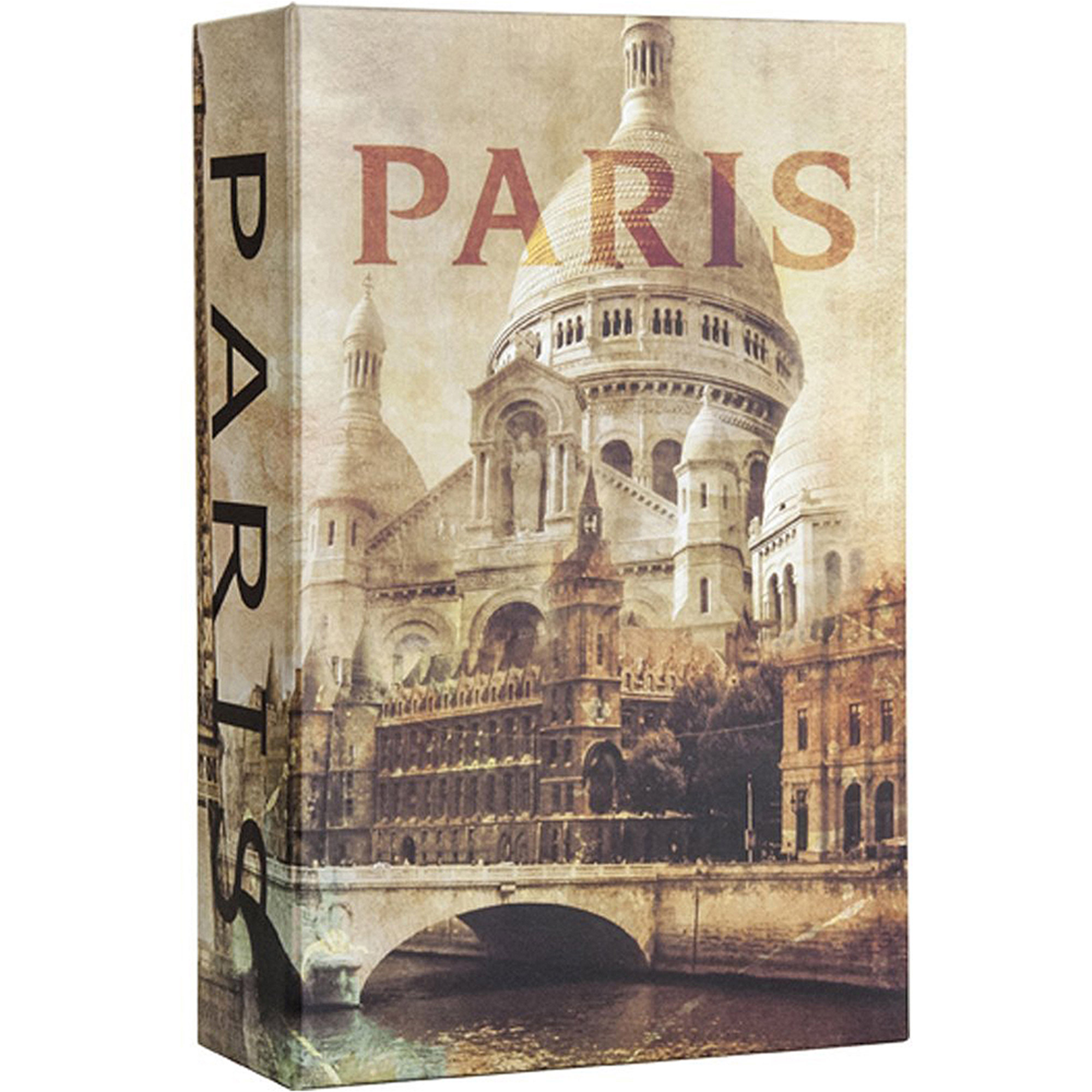 Barska Optics Paris Book Lock Box with Combination Lock