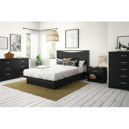 South Shore SoHo 5-Drawer Dresser, Black