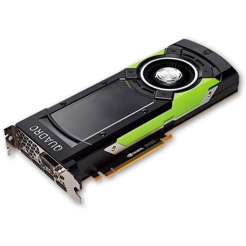 PNY Video Card NVIDIA Quadro GP 100 PCIE3.0 4xDP DVI-D DL Stereo VCQGP100-PB (VCQGP100-BLK) by PNY
