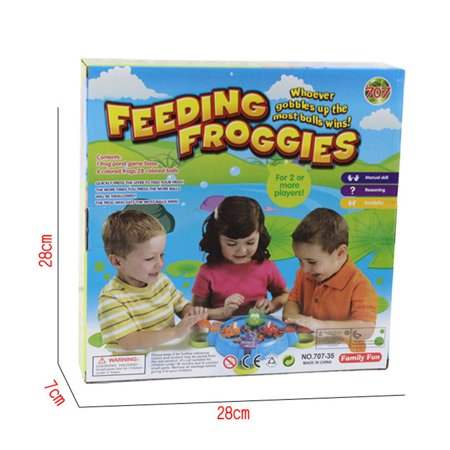 Mosunx Hungry Hungry Frogs Creative Desktop Toys Interactive Fun Board Game For Kids - Top Toys For Kids