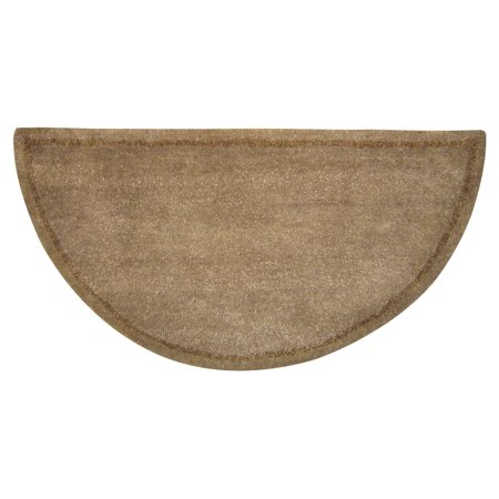 Hand-Tufted Wool Hearth Rug -