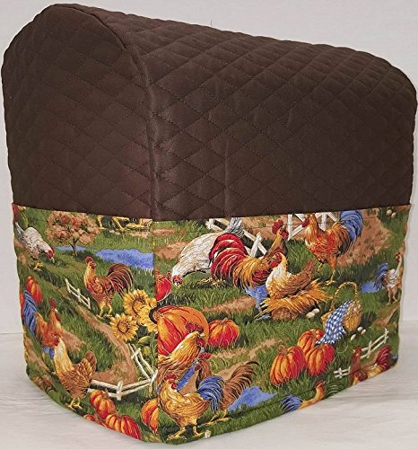 Quilted Rooster Kitchenaid Tilt Head Stand Mixer Cover