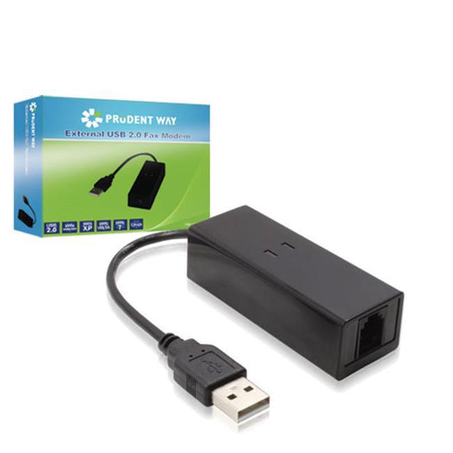 Prudent Way PWI-USB-FAX External USB 2.0 Fax Modem