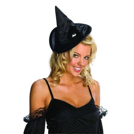 Black Diamond Mini Witch Costume Hat - Mini Costumes