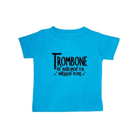 Intelligent Trombone Rough Text Baby T-Shirt - Walmart.com 96a099bc0