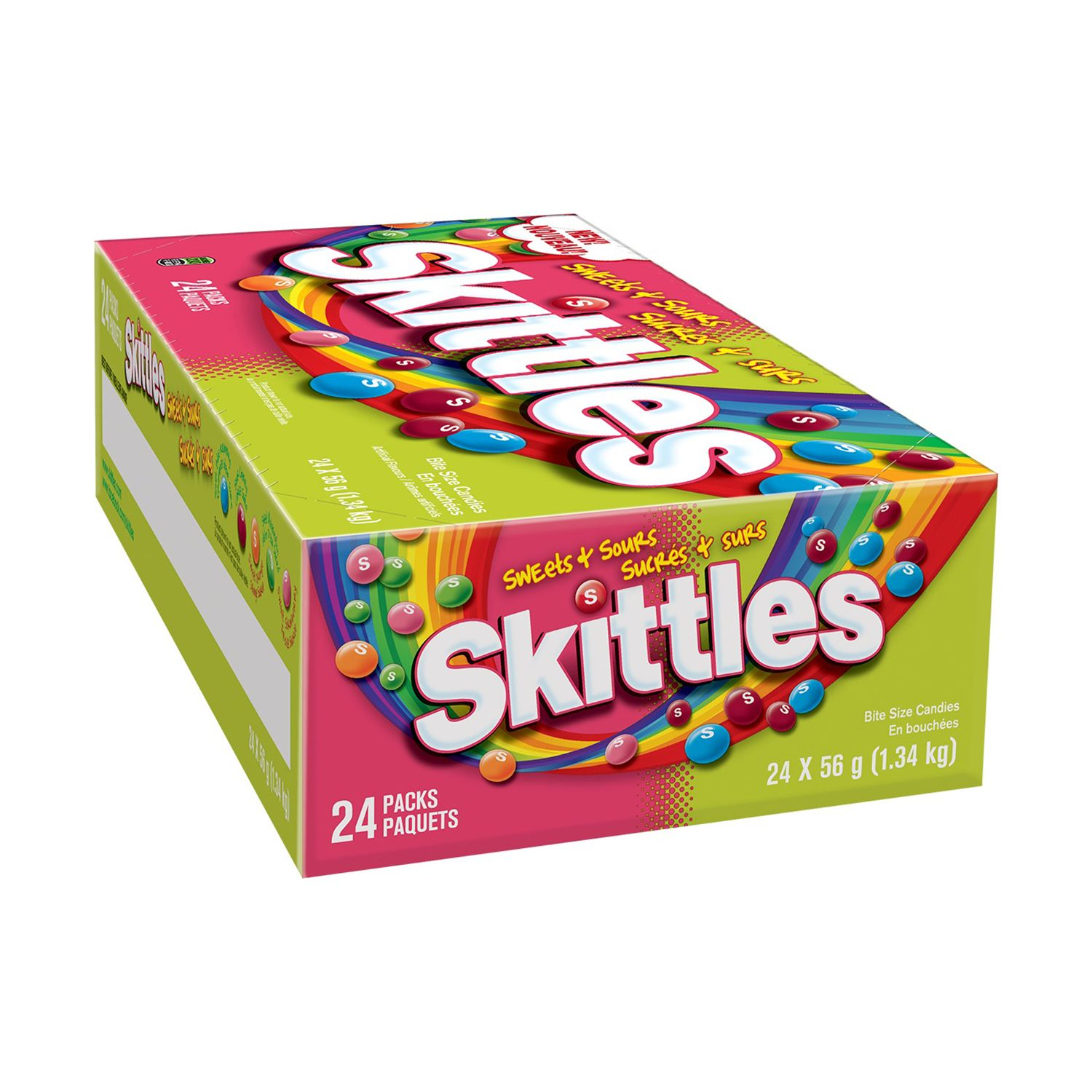 Skittles Sweets and Sours Candy (2 oz., 24 ct.)