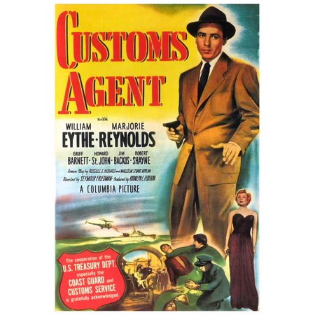 Fossilized Customs Halloween (Customs Agent POSTER Movie)
