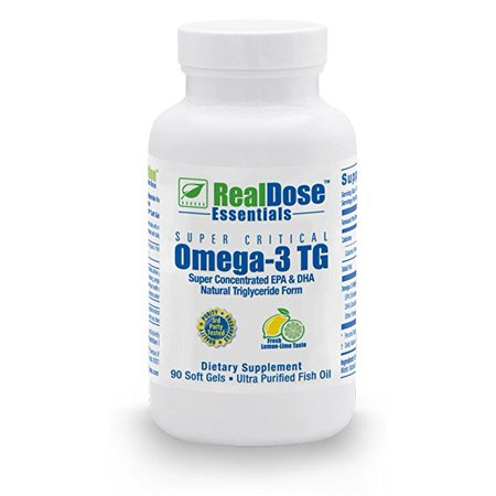 Realdose Nutrition Omega 3 Fish Oil Softgels   Pharmaceutical Grade Fish Oil Supplement With 2 400 Mg Of Omega 3 Fatty Acids   1 200Mg Epa   750Mg Dha Per Serving   90 Softgels