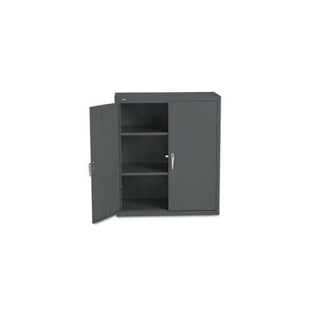36 High Cabinet - Assembled Storage Cabinet, 41-3/4amp;quot;amp;quot; High, 36 x 18-1/4, Charcoal (HONSC1842S)