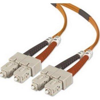 BELKIN 10M DUPLEX FIBER SC/SC 50/125 OPT CABLE / A2F40277-10M /