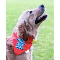 Heads Up for Tails HUFTAC083 Feed This Face Dog Bandana, Large