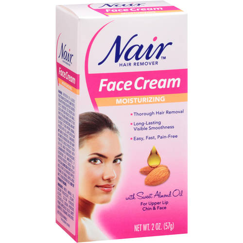 (2 pack) Nair Hair Remover Cream for Face, 2 Oz