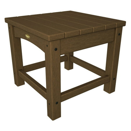 Trex Outdoor Furniture Recycled Plastic Rockport Club 18 in. Side Table ()