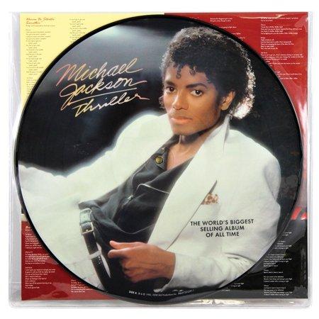 Michael Jackson Collectibles - Michael Jackson 25th Anniversary Thriller 25 Collectible Vinyl Record Album