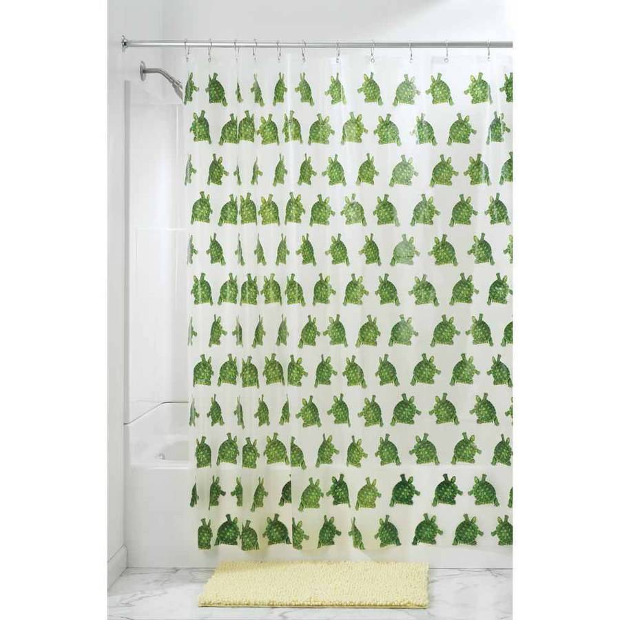 InterDesign Turtle PEVA Shower Curtain