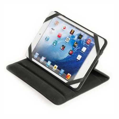 Refurbished ONN Universal Rotating Tablet Case, Black
