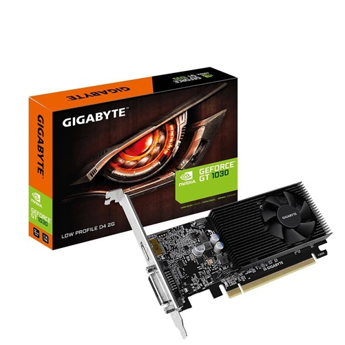 Gigabyte GV-N1030D4-2GL GeForce GT 1030 2GB Low-Profile Graphics Card