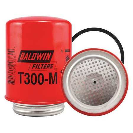 Oil Filter,Spin-On,By-Pass, Vac-Cel BALDWIN FILTERS T300M