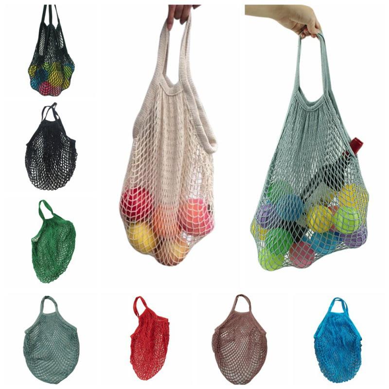 ENJOY Net Environmental Protection Reusable Fruit Vegetable Bags Cotton Mesh Woven Net Hand Totes