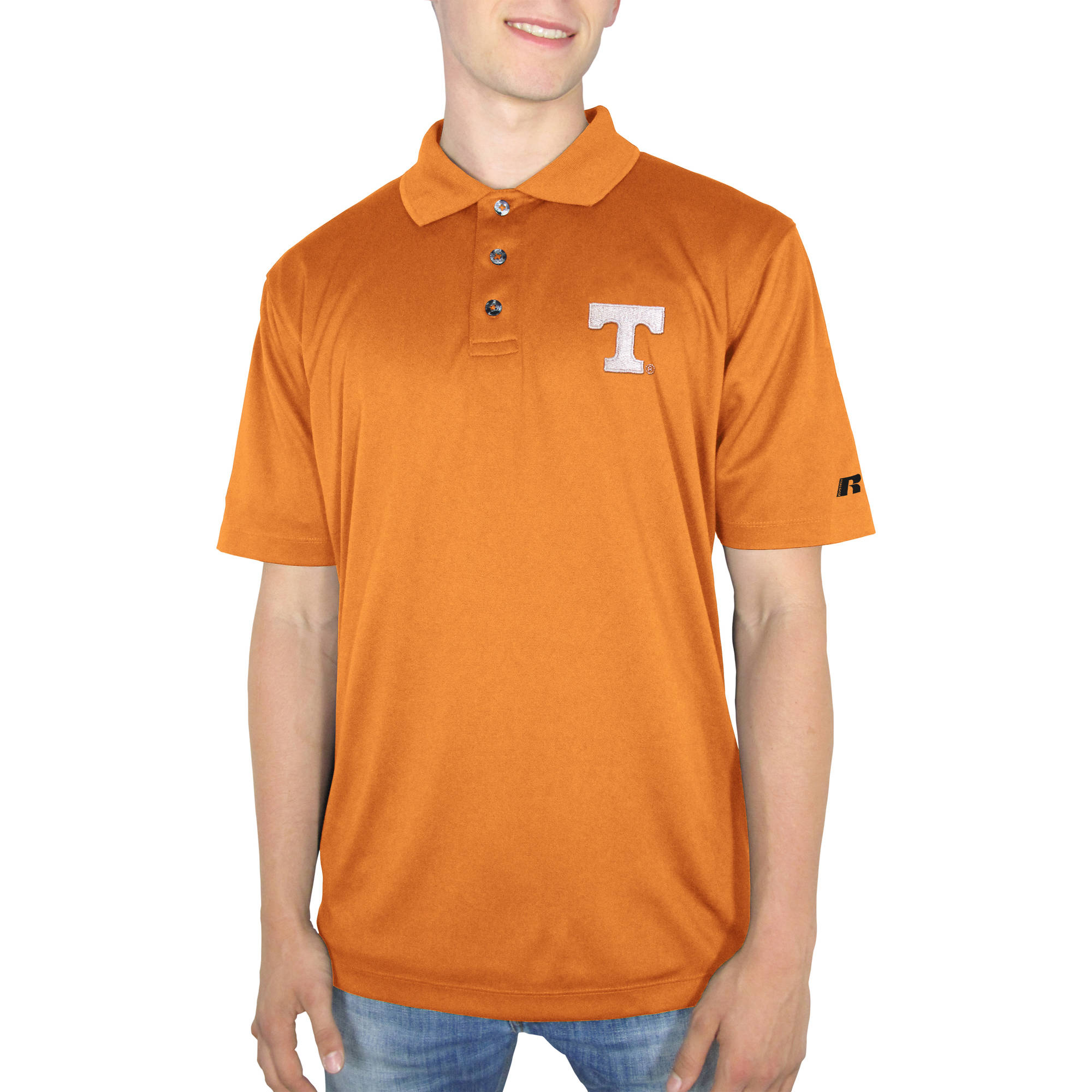 Russell NCAA Tennessee Vols Men's Synthetic Polo