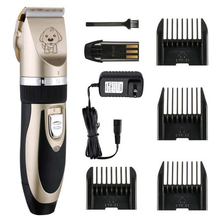 NEW Electric Animal Pet Dog Cat Hair Trimmer Shaver Razor Grooming Quiet (Best Pet Hair Clippers For Cats)
