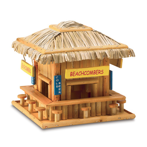 Zingz & Thingz Beachcomber 8 in x 8.5 in x 8.5 in Birdhouse by Zingz & Thingz