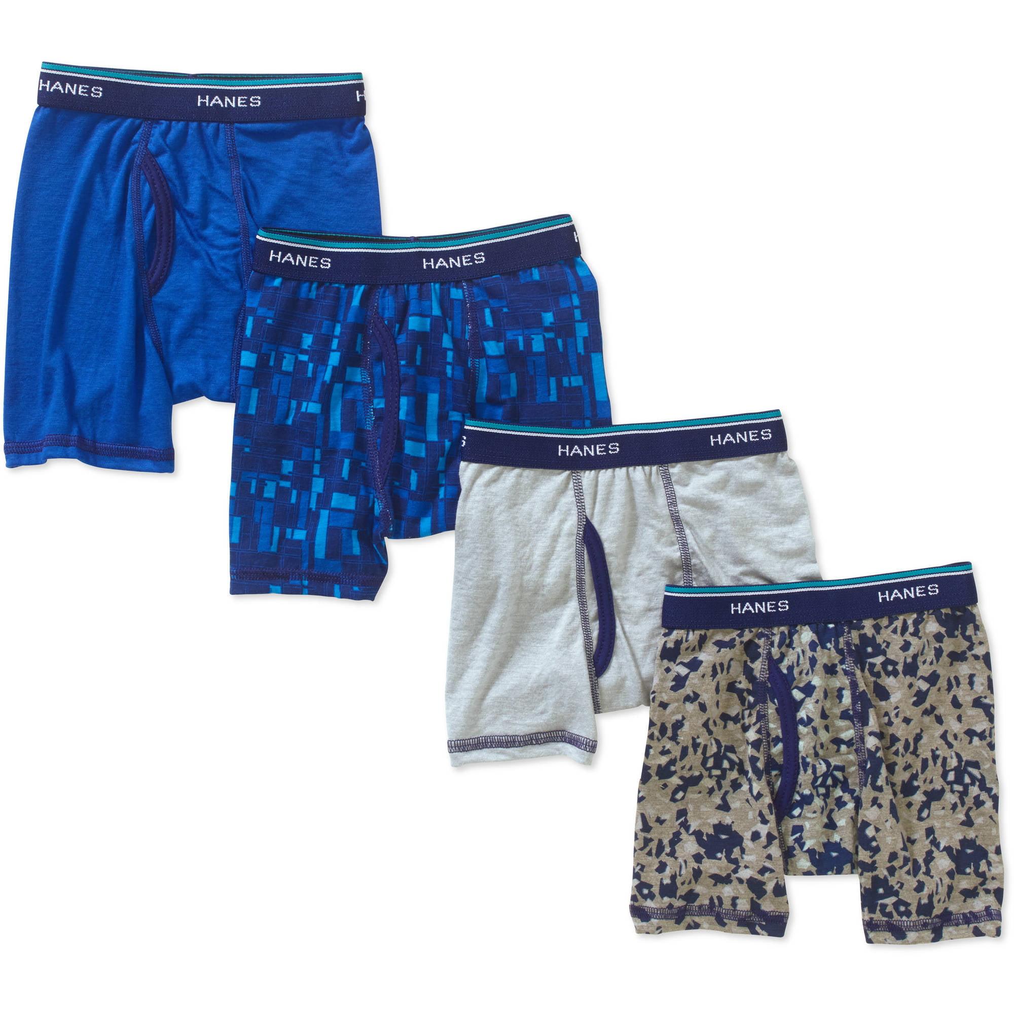 Hanes Brands, Inc Hanes Toddler Boys' X - Temp Boxer Briefs, 4 - pack