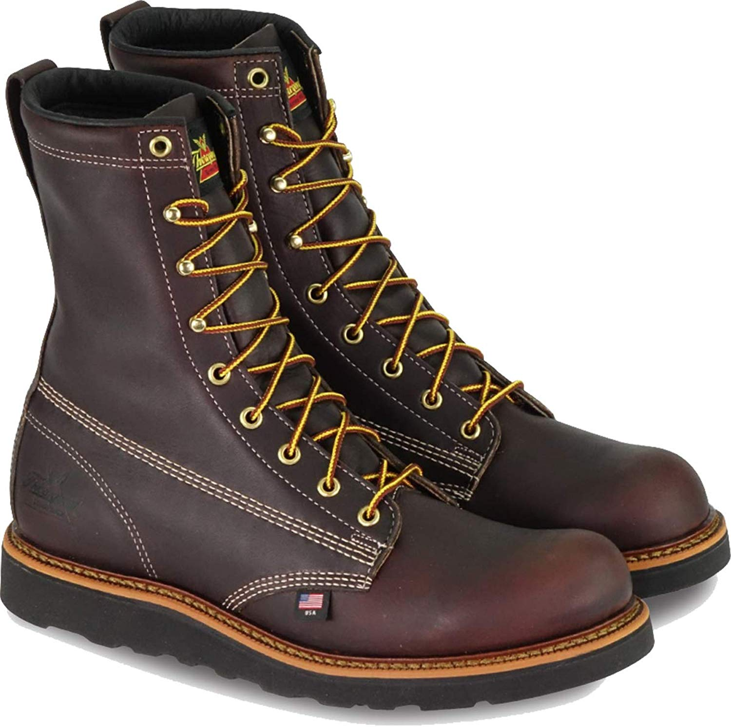 Round Toe Max Wedge Non-Safety Boots