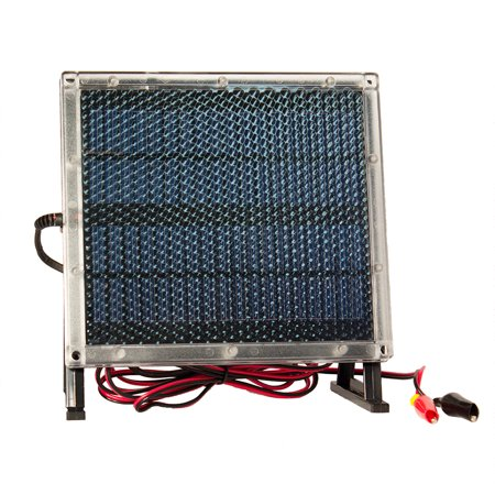 Solar Electric Panels - 12V Solar Panel Charger for MANTIS ELECTRIC SCOOTER 12V 7Ah Battery