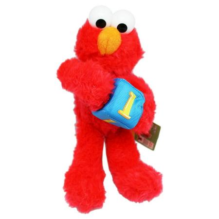 Sesame Street Elmo Holding a