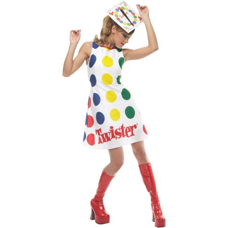 Morris Costumes Womens Twister Adult Medium 8-10 Halloween - Halloween Costume Costumes