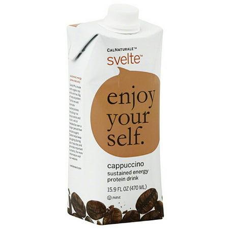CalNaturale Svelte Cappuccino Protein Drink, 15.9 fl oz