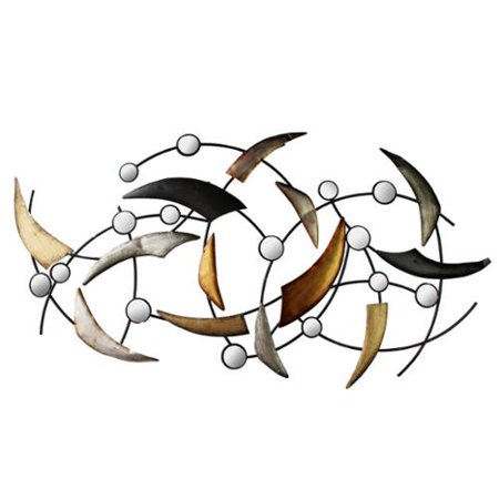 Home Source Arched Curves Modern Wall Decor