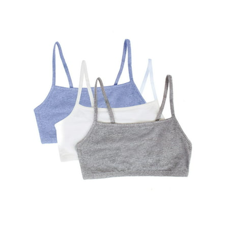 Womens Strappy Sports Bra, Style 9036, 3-Pack
