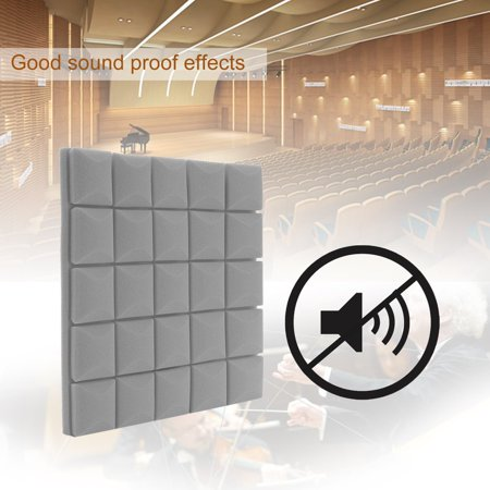 500x500x50mm DIY Acoustic Insulation Foam Soundproofing ...