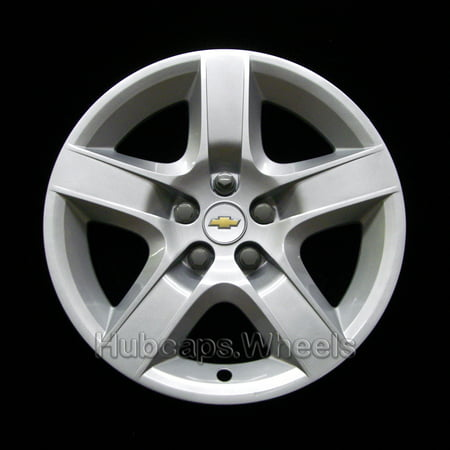 OEM Genuine Chevrolet Wheel Cover  - Professionally Refinished Like New - Replacement  17-in Hubcap for 2008-2012 Malibu (Chevrolet Wheel)