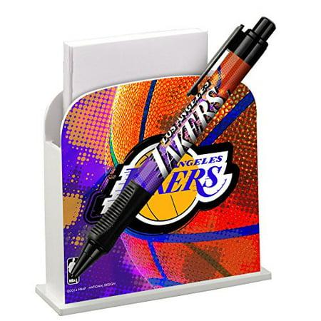 Pen Caddy - National Design NBA Desk Caddy with Pen, LA Lakers (3648-NBA-BJS)