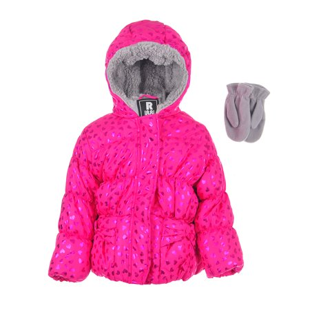 Rothschild Baby Girls' Insulated Jacket with - Mouton Rothschild Label