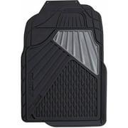 Go Gear Heavy Duty Rubber Mat Full Truck Black 2-Piece Set