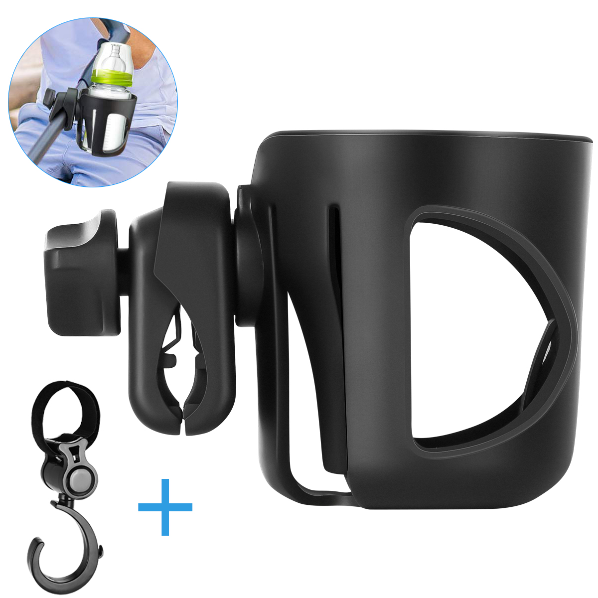 Stroller Pram Cup Holder Universal Coffee Cup Holder Baby ...