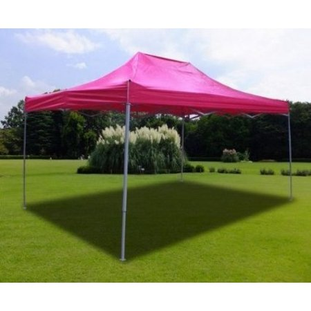 New MTN-G Pink Deluxe EZ up Canopy Pop Up Tent 15' X 10