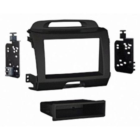 Metra 99-7344CH for Kia Sportage 2011-up In Accs Charcoal Single Din Dash Kit