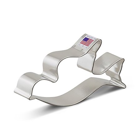 Dove Flying Cookie Cutter - 4.5 Inches -Ann Clark - Tin Plated Steel
