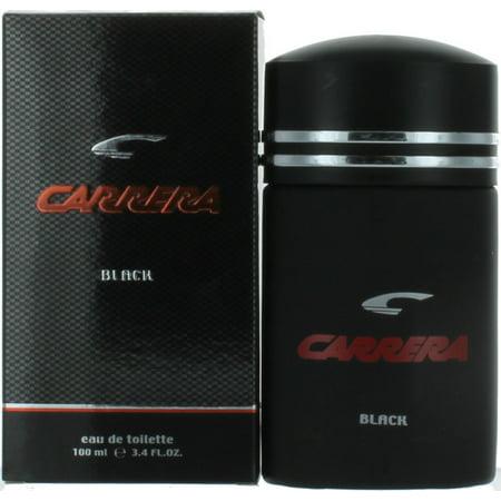 Carrera Black by Carrera for Men EDT Cologne Spray 3.4 oz. New in Box Black Cologne Edt Spray