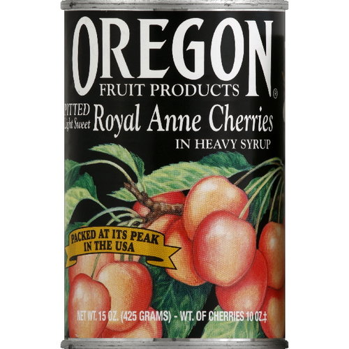 Oregon Fruit Products Pitted Royal Anne Cherries, 15 oz (Pack of 8)