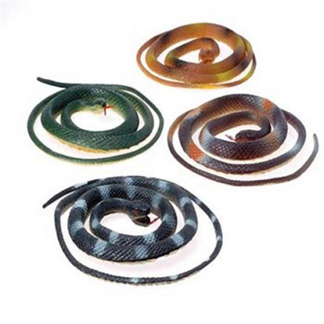 US Toy 2373X4 42 in. Toy Snakes - 12 Per Pack - Pack of 4