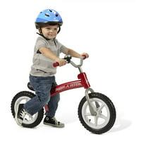 Radio Flyer, All-Terrain Balance Bike, Air Tires, Red