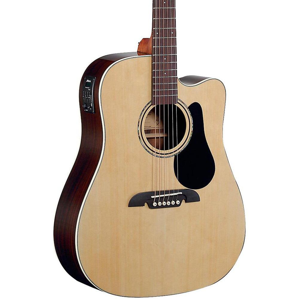 Alvarez RD27CE Dreadnought Acoustic-Electric Guitar Natural by Alvarez